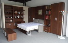 5 years warranty hotel bedroom furniture, hotel wooden bed , hotel double bed
