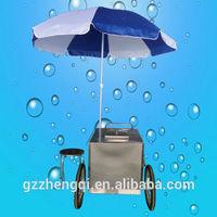 popsicle ice cream cart ,mobile ice cream cart ZQR-C3
