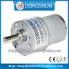 DS-37RS528 brushed motor 6mm shaft 24v dc gear motor