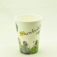 disposable cold drinking paper mug/ tea cup pattern/ paper cup china