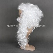 Christmas Wig Santa Wig Mustache Beard King Wig
