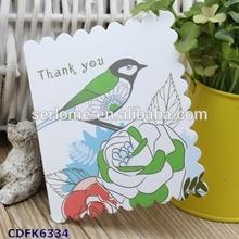 Custom Wedding Card Design for Appreciation