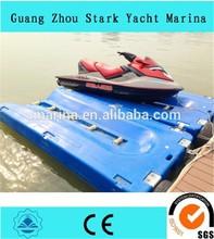 Used plastic jet ski floating dock