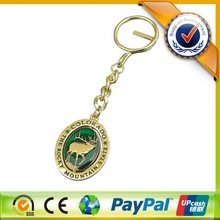 Personalized Metal Material Promotional Custom Key Chains