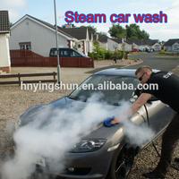 2015 CE no boiler LPG 2 guns 20 bars portable steam car wash/steam auto detailing products