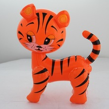 small size inflatable tiger for decoration