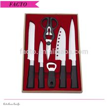 Japanese style 6pcs chef knife set