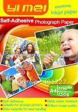 Auto- adesivo di carta fotografica lucida a4 carta fotografica formato(foglio/rotolo)