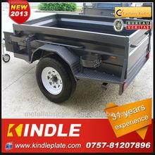 customize galvanized steel camping trailer