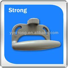 knurling molded plastic handle