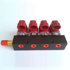 Hot Selling 3Ohms 12VDC 4 CYL LPG/CNG Common Rail Injector