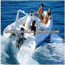 Best selling inflatable hypalon rib boat for sale from china (HLB580 with CE certificate)