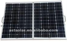 80W Folding Solar Panel with PWM waterproof controller(40W*2PCS)