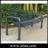 Steel Pipe Bnech Outdoor Patio Bench Garden Bench