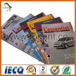 Advertising magazine / brochure CMYK printing