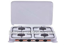 4 burners white superior table gas cooker-JP-004