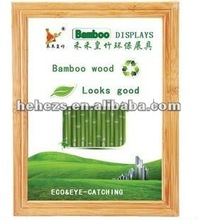 promotion gift bamboo photo frames