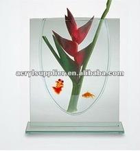 2012 modern-designed acrylic mini aquarium for sale in shop