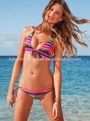 2012 Stcok Ruched Side Tie Sexy Ladies Fashion Bikini
