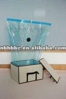 2012 hot sale .The higher capacity tote ,Folding vacuum storage box