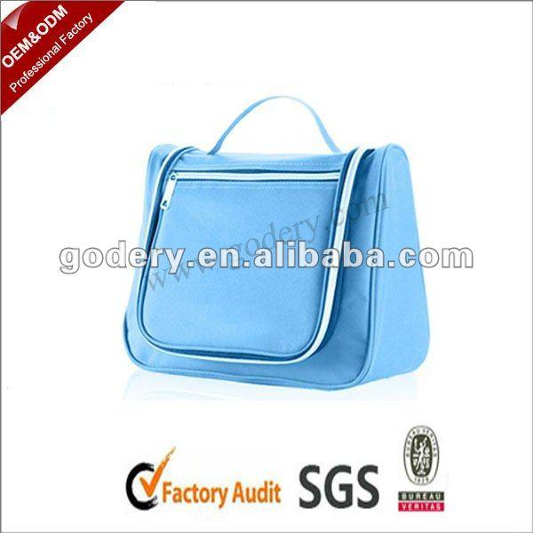 Portable polyester Hanging Toiletry Travel Bag Organizer