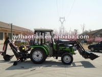 354 tractor with cabin , with Front end loader & Backhoe