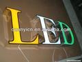 Espelho 304# açoinoxidável acrílico letras do alfabeto