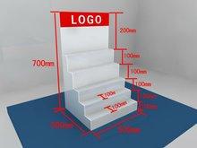 Cinq niveaux noir ou blanc cristal acrylique plexiglas parquet ( HJ-3002 )