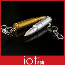 Bullet Shape Pen Drive Accept Logo Print and Engrave