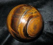 Natural tiger eye stone carved sphere, tiger eye rock carved balls