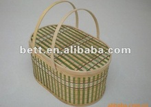 New design apple shape bamboo fruit baskets