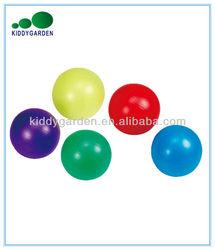 Small aerobic PVC foam ball, pilates ball, soft PVC ball