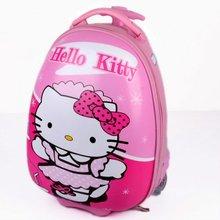 Kid's school trolley travel Bags pink color