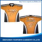 5XL Custom Racing Shirts Sublimated Motorcycle Crew Jerseys