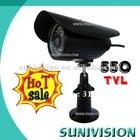 2012 HOT SALE 1/3 Sony 550TVL Color CCD Waterproof IR Camera