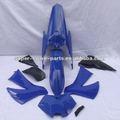 cor azul ktm 250 ajuste para peças de moto pit bike kits de plástico