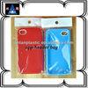 custom design opp header packaging bag for iphone cases
