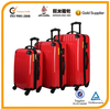 high quality cheap abs and pc trolley luggage set
