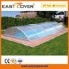 Swimming Spa Pool Solar Cover Polycarbonate Telescopic