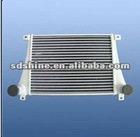 chinese Shacman heavy duty truck Radiator, alluminum water cooling Radiator 199112530269