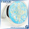 Ceramic personalized hand mirror pocket mirror for purse