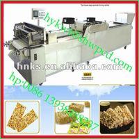 Peanut candy bar making machine/crisp making machine