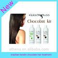 brésilien de kératine traitement des cheveux chocolat