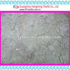 silver guipure lace embroidery fabric for haut couture