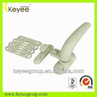 window knob with lock