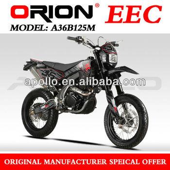 China Apollo ORION EEC new 125cc On Road motorcycle 125cc Super Motard Street Bike