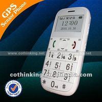 2013!! GPS elderly phone GS503, Simpe GPS mobile Original manufacturer
