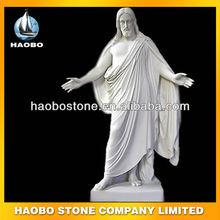 Famous White Marble Jesus Sculpture HBSL01