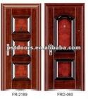 used wood exterior doors,apartment door, safety door design in metal