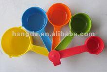 5pcs plastic measuring spoon